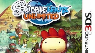 Scribblenauts Unlimited Gameplay (Nintendo 3DS) [60 FPS] [1080p]