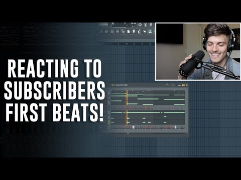 REACTING TO YOUR FIRST BEATS