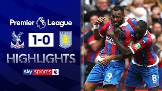 Referee decision denies Villa draw! | Crystal Palace 1-0 Aston Villa | Premier League Highlights
