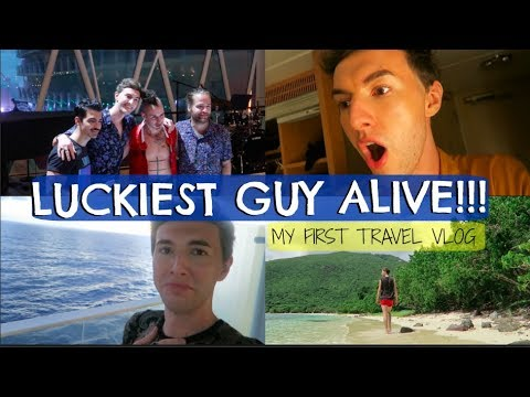 LUCKIEST GUY ALIVE! My First Travel Vlog!