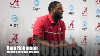 Cam Robinson talks Clemson matchup
