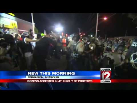 Police make dozens of arrests following night of emotional ...