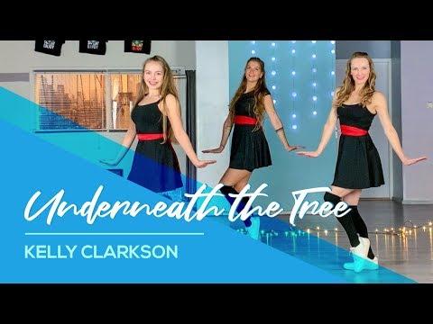 Kelly Clarkson - Underneath the Tree - Easy Christmas Dance  - Navidad Baile - Choreography