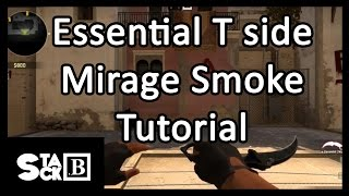 [CSGO] Essential T side Mirage smoke tutorial