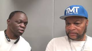 "Jeff Mayweather asks Eddie Mustafa Muhammad for ""inside info"" on Floyd Mayweather vs. Conor McGregor"