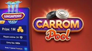 Carrom Pool Game Play   Play Freestyle   Carrom Pool