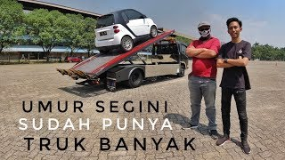Towing Supercar milik Ziko Garasi Drift