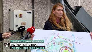 Feltételeket szabott a kormánynak Ferencváros polgármestere a stadionépítéshez 19-11-22