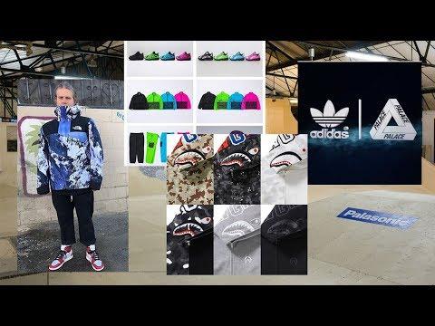News: Palace x Adidas pt.2 & lancio skatepark, Bape Shark Hoodies, Gue$$, Supreme x Nike pt.2