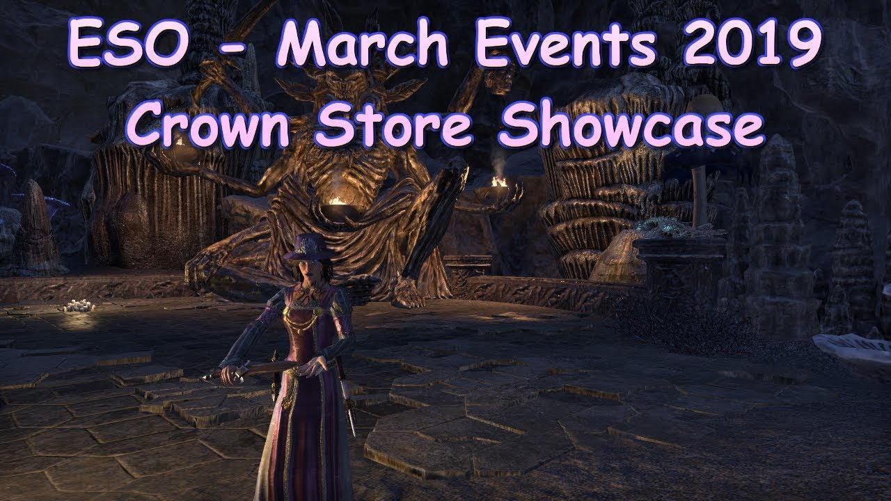ESO March Events and Crown Store 2019