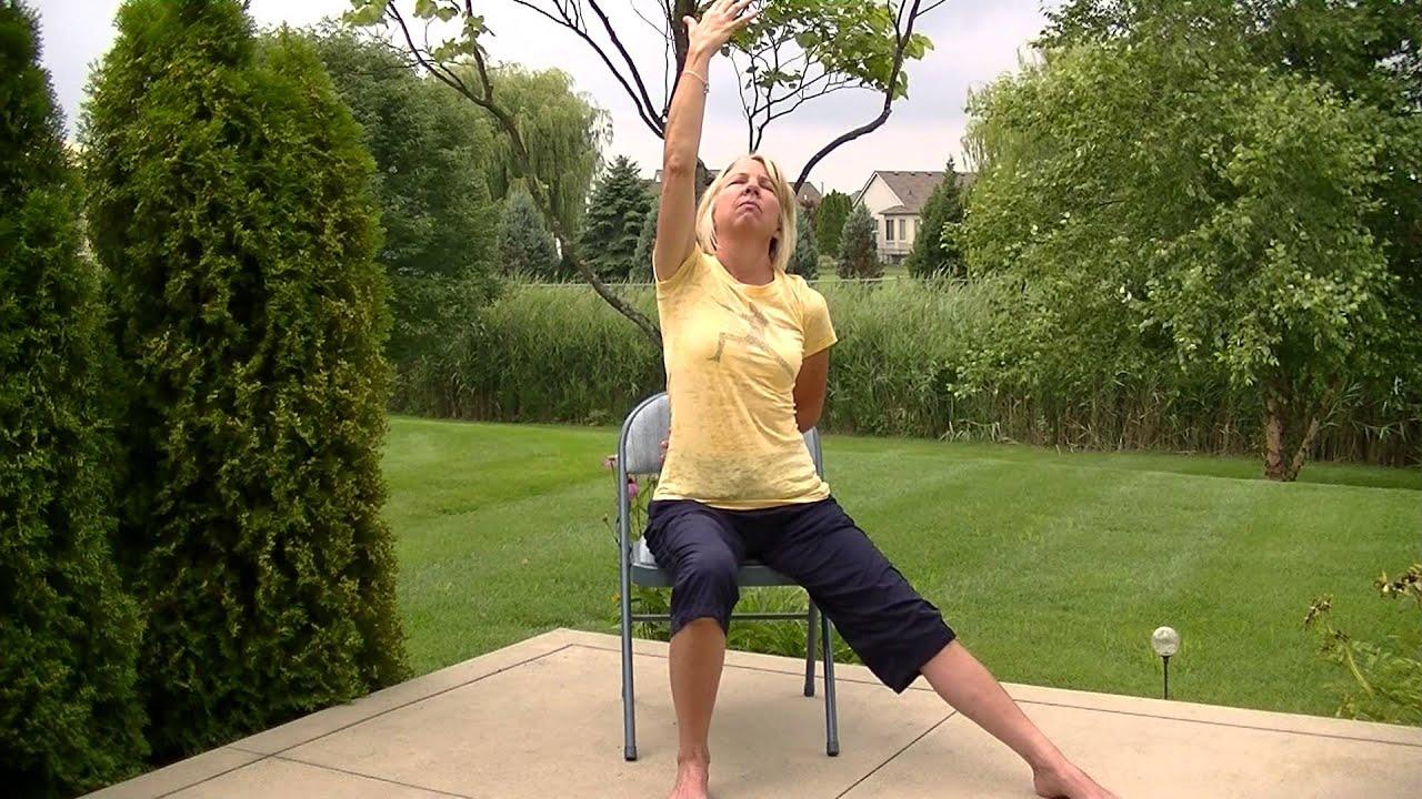 Youtube Chair Yoga Design Ebay Warrior Poses