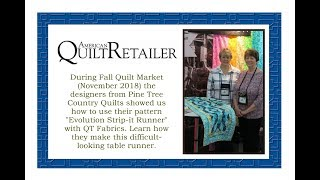 AQR Showcases Unique Patterns and Fabric from Quilt Market