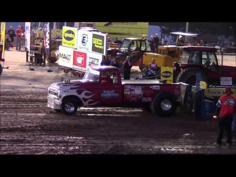 Hamburg fair grounds tractor pulls