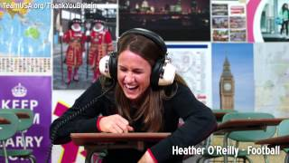 Part 1: Teaching Team USA athletes to speak cockney rhyming slang - Chicken Oriental
