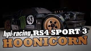 Mythical Bashing! Unboxing & Drifting the Hoonicorn from HPI Racing