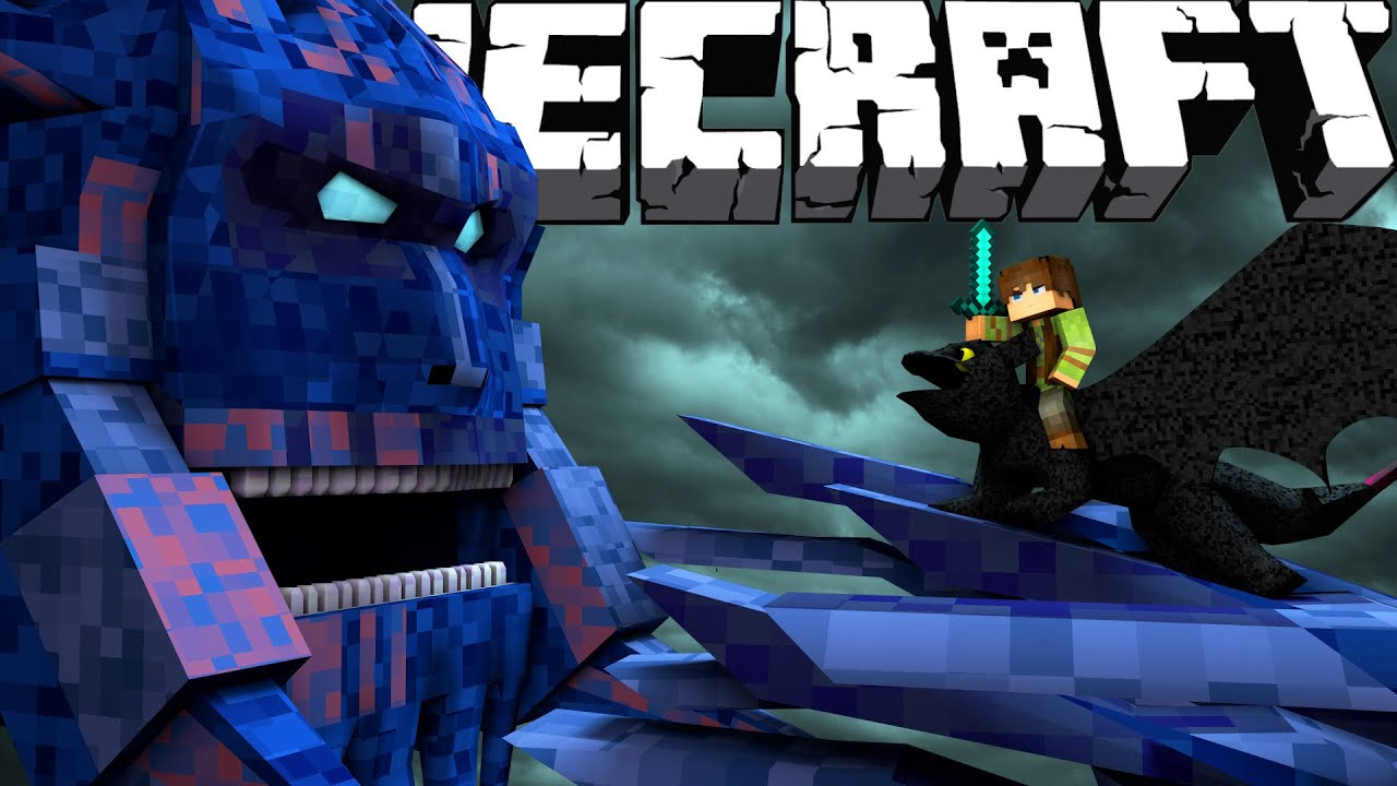 Minecraft Finale: Part 2  How To Train Your Dragon