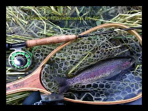 Fly Fishing On Hat Creek, CA - May 25 -27, 2019