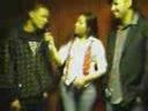 MC Daffy & Lenny Rankz getting interview by canal 62