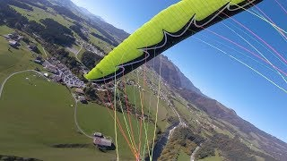 Paragliding Crash