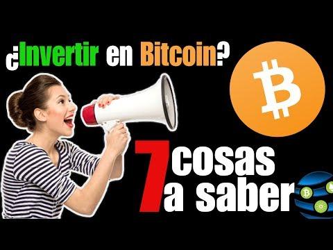 ✅Bitcoin - Lo Que Necesitas SABER Antes De INVERTIR En Bitcoin