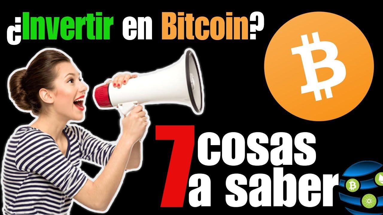 ¿qué debo saber antes de invertir en bitcoin? qual é a próxima melhor criptomoeda para investir em