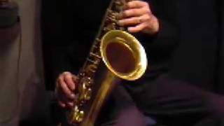 Swing Supreme tenor sax jazz improvisation ii-V-I