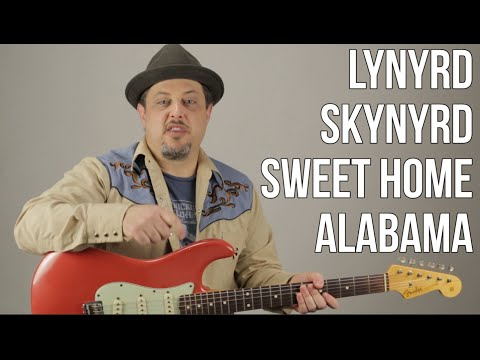 How to Play Sweet Home Alabama on Guitar  Lynyrd Skynyrd Guitar Tutorial