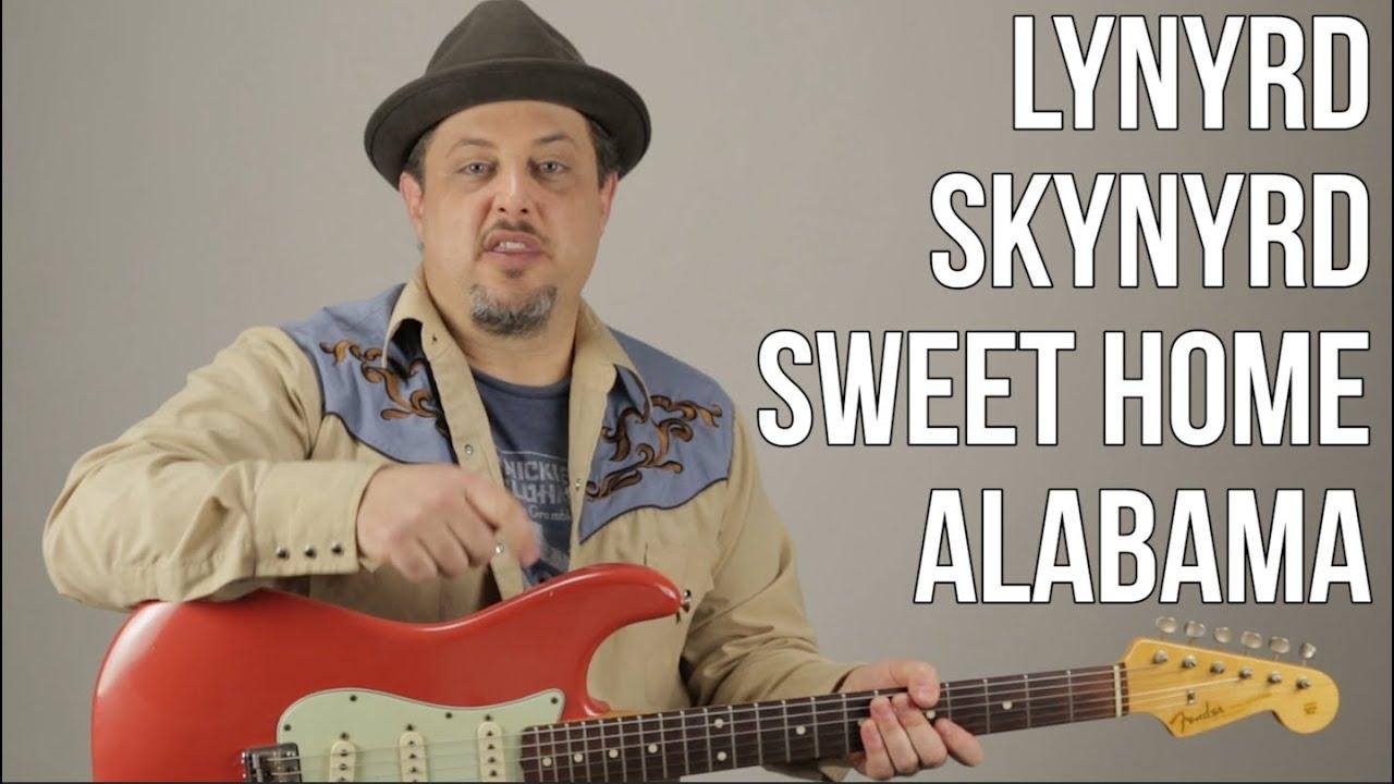 Sweet Home Alabama Lynyrd Skynyrd Guitar Lesson + Tutorial ...