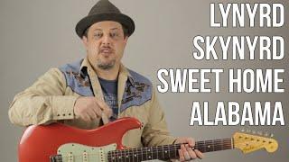 Sweet Home Alabama Lynyrd Skynyrd Guitar Lesson + Tutorial