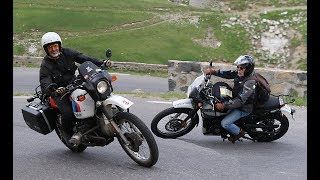 BMW R80GS - Royal Enfield Himalayan (le Match :-)