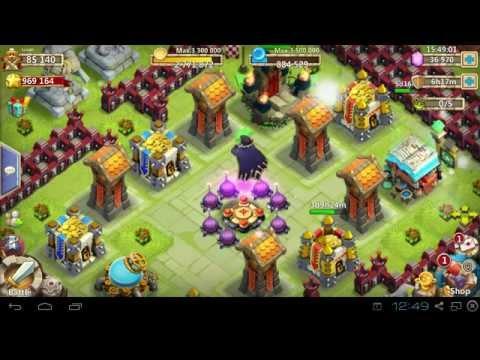 Castle Clash Vlad Soloing HBM J