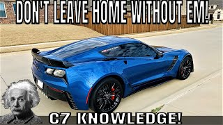 5 THINGS you Never KNEW you could DO with your C7 Corvette!