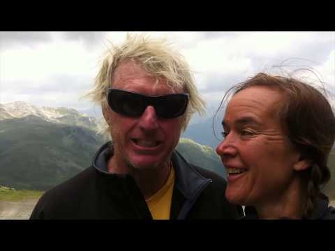 Why Cycle over the Swiss Alps? Drinking beer and getting philosophical about big challenges