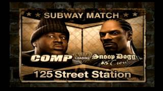 Def Jam Fight For NY (Request) - Comp vs Snoop Dogg (Hard)