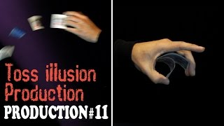 Magic tricks revealed - Card Production Series #11 - Toss Illusion Production