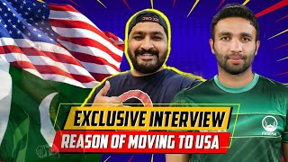 Why Sami Aslam left Pakistan? | Exclusive interview with Sami Aslam from USA | Cricket