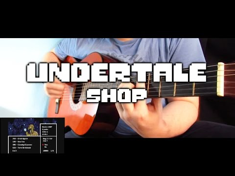 Shop (Undertale) Acoustic/Flamenco Guitar Cover #StopNintenTale | Dacian Grada
