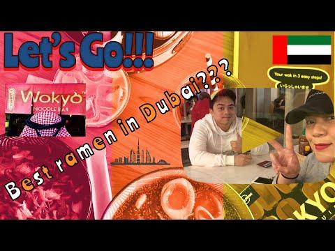 Best Ramen In Dubai? Wokyo! Vlog