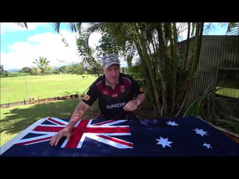 Australian National Flag And Indigenous Flag Presentation Part 1