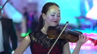 Скрипка, домбра и аккордеон лучшее сочетание, Шикарный подарок на свадьбу