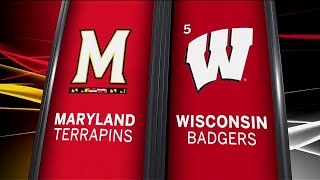 Maryland at Wisconsin - Football Highlights