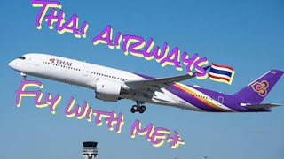 Thai Airways New image song 【Fly With Me♬】 การบินไทย タイ国際航空 イメージソング 2018's #タイ国際航空 #thaiairways