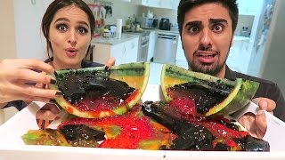 RAINBOW JELLO WATERMELON !!!