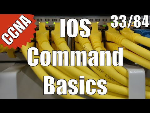 CCNA/CCENT 200-120: IOS Command Basics 33/84 Free Video Training Course