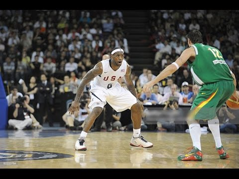 Lithuania vs USA 2008 Olympics Basketball Exhibition Friendly Match FULL GAME English