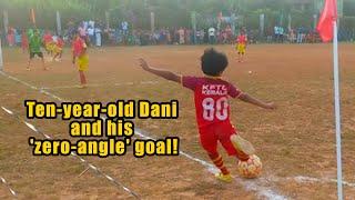Meet Dani P K , 10, the Kerala kid whose 'zero angle' goal went viral