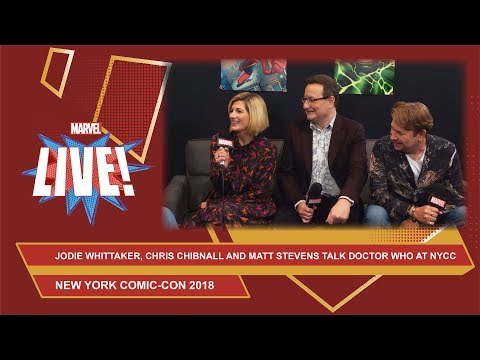 Jodie Whittaker, Chris Chibnall and Matt Strevens talk all things Doctor Who live at NYCC18!