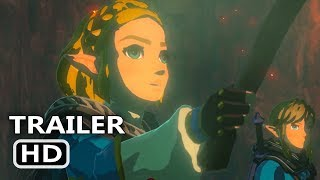 ZELDA Breath Of The Wild 2 Official Trailer (2020) E3 2019 Nintendo Game HD