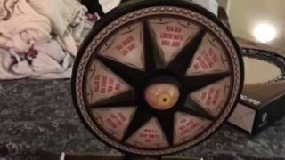 Gemmy animated mystic wheel At Home store 2017