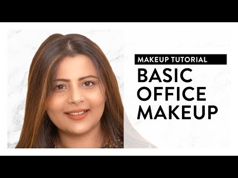Basic Office Makeup Tutorial 2018